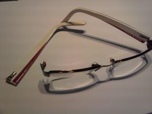 Gafas rotas