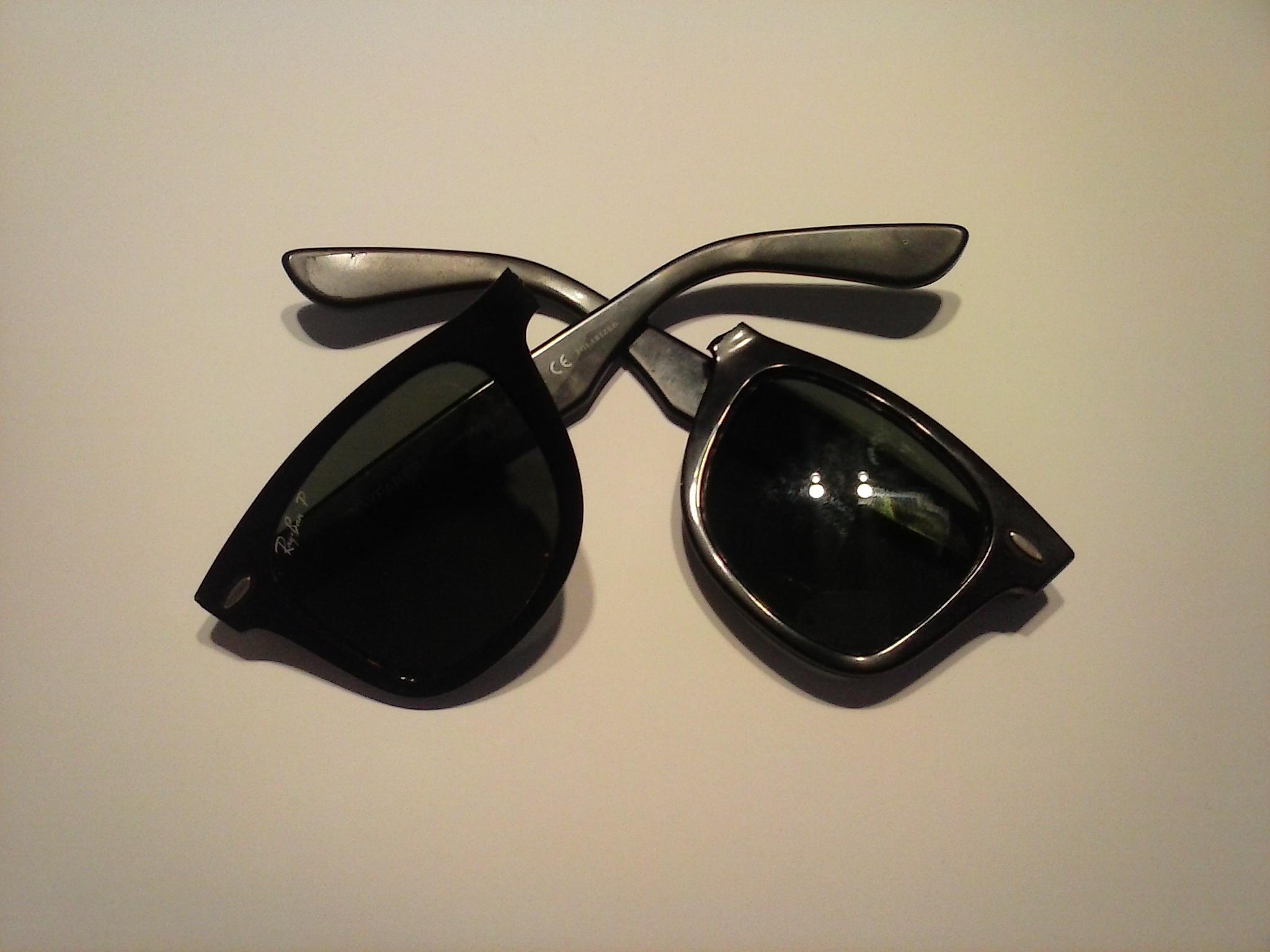 gafas ray ban pasta y metal