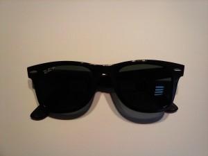 Gafas RayBan arregladas